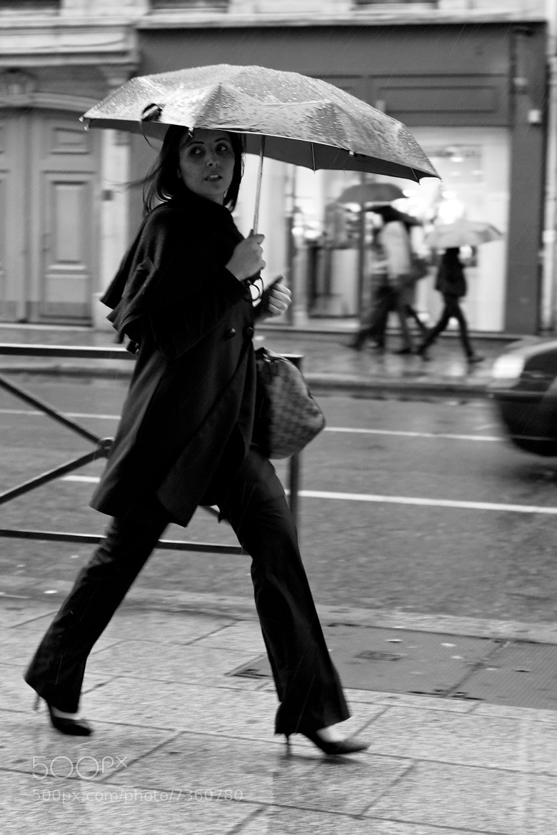 Photograph Trying to escape from the rain by laurent aublé on 500px