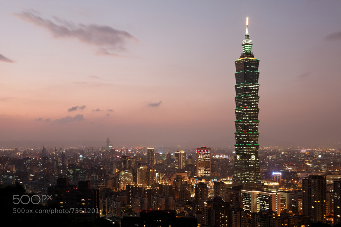 Photograph Taipei at Dusk by Raymond Choo on 500px