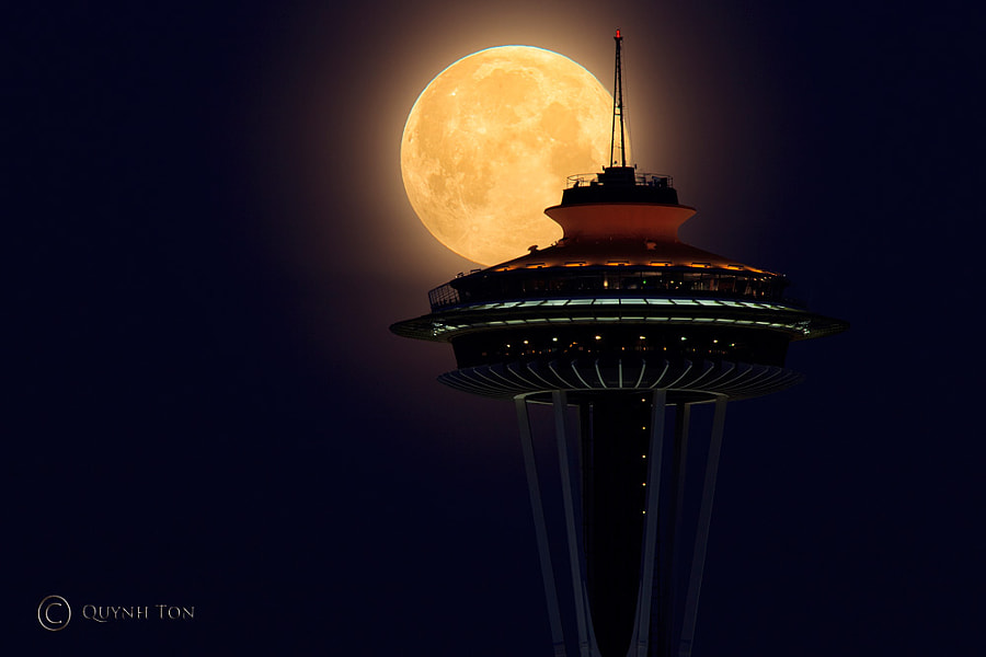 Supermoon 2012 by Quynh Ton on 500px.com