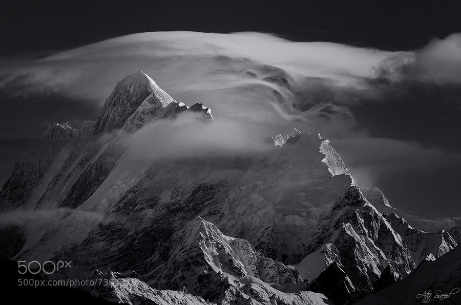 Photograph Mount Malubiting 7458m.. by Atif Saeed on 500px