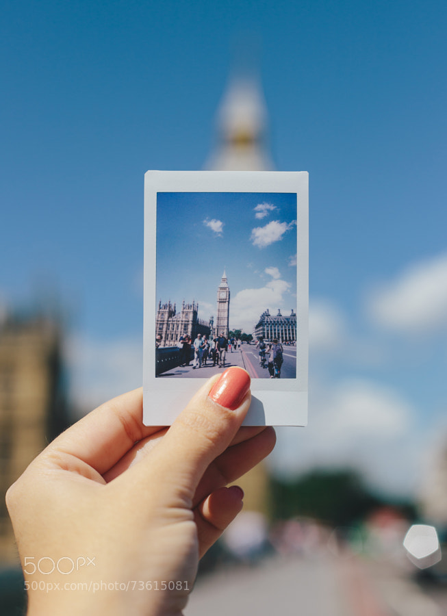 Photograph Big Ben Instax Picture by Renata Freire on 500px