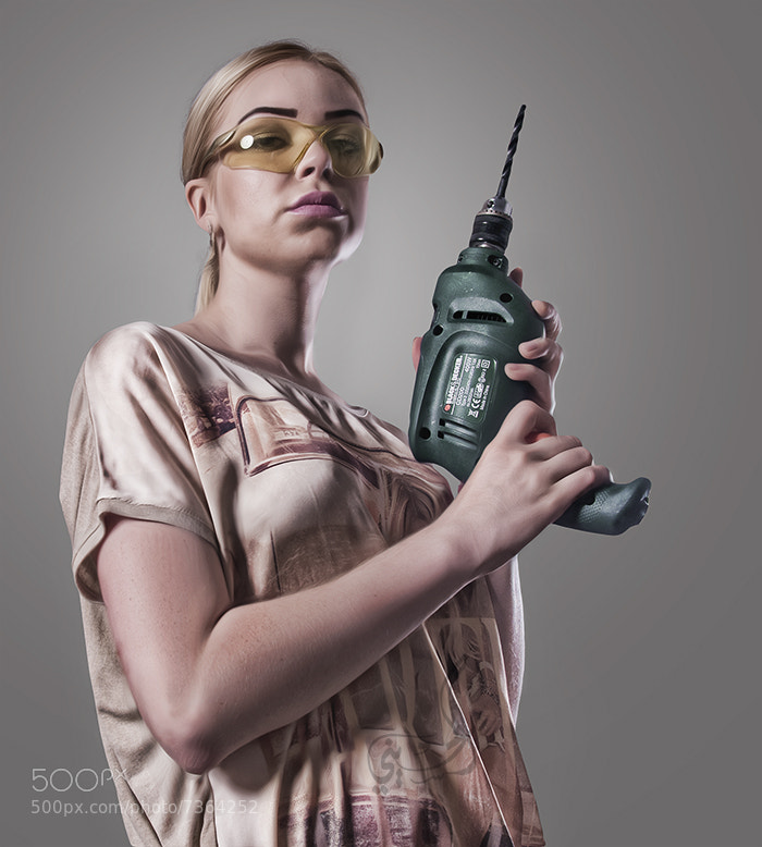 Photograph  girl drill by nasser alhassiny on 500px