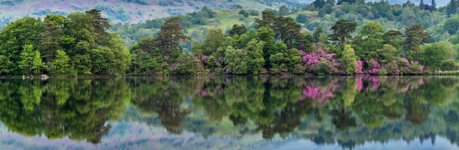 Rydal Water Reflections by Bob Fogerty on 500px.com