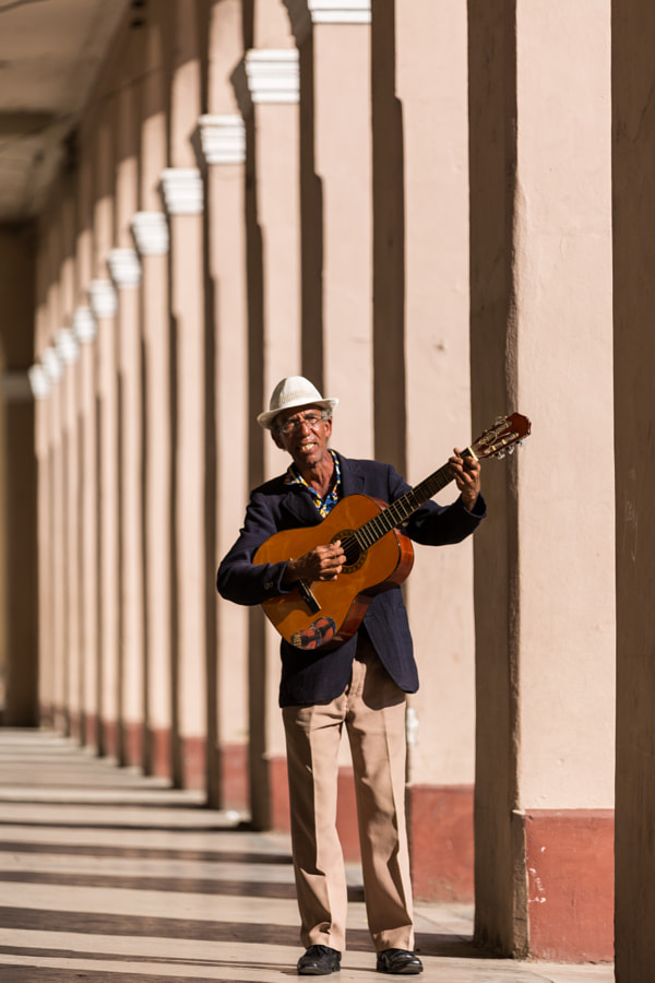 Photograph Street Musician in Cienfuegos by Nevzat Gökmen on 500px