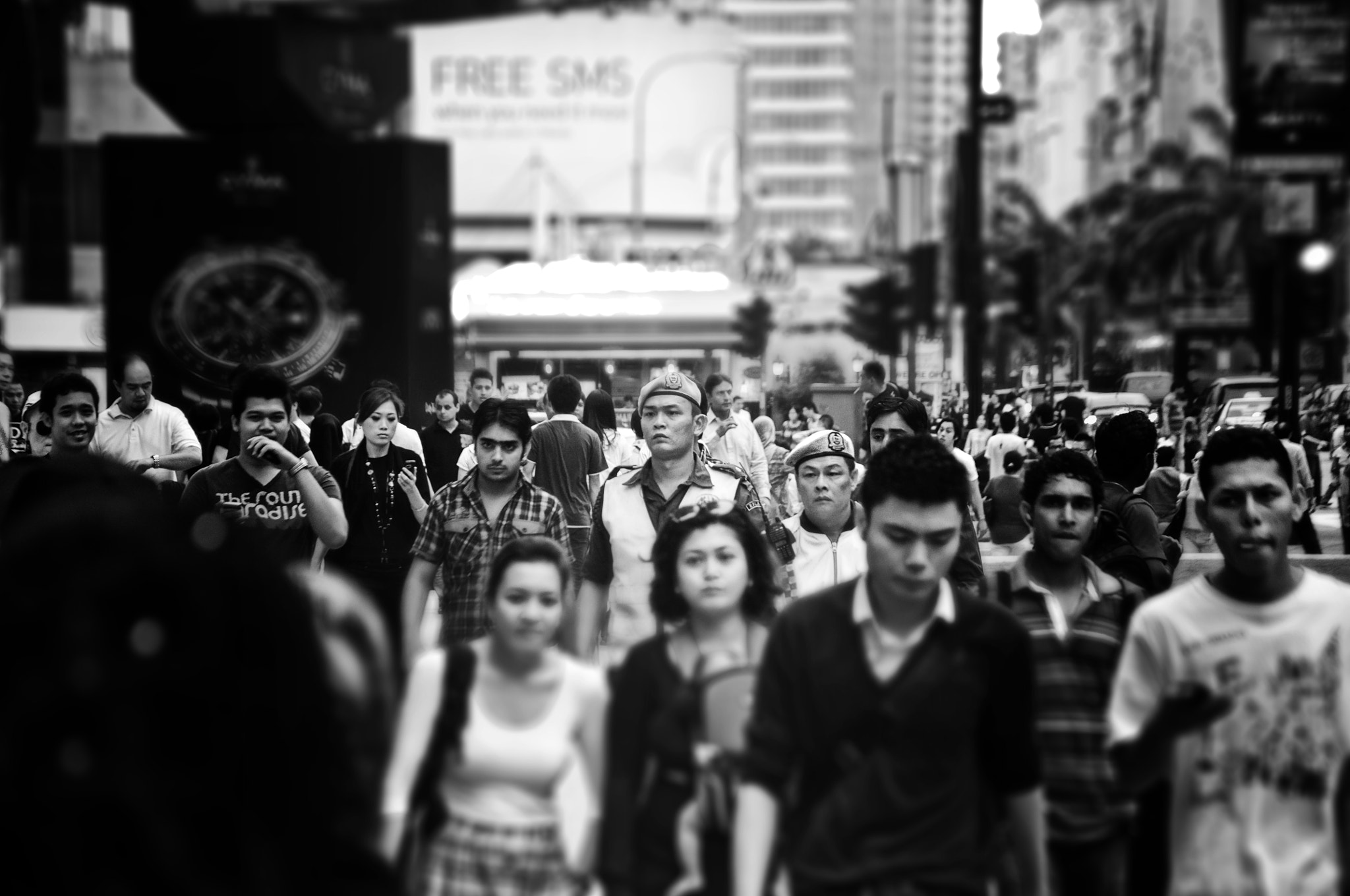 Photograph Security in the crowd by Zulkifli Yusof on 500px