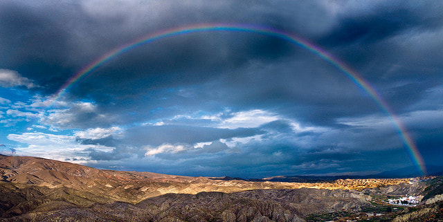 Photograph Arco iris Rágol by Antonio Ciendones Martínez on 500px