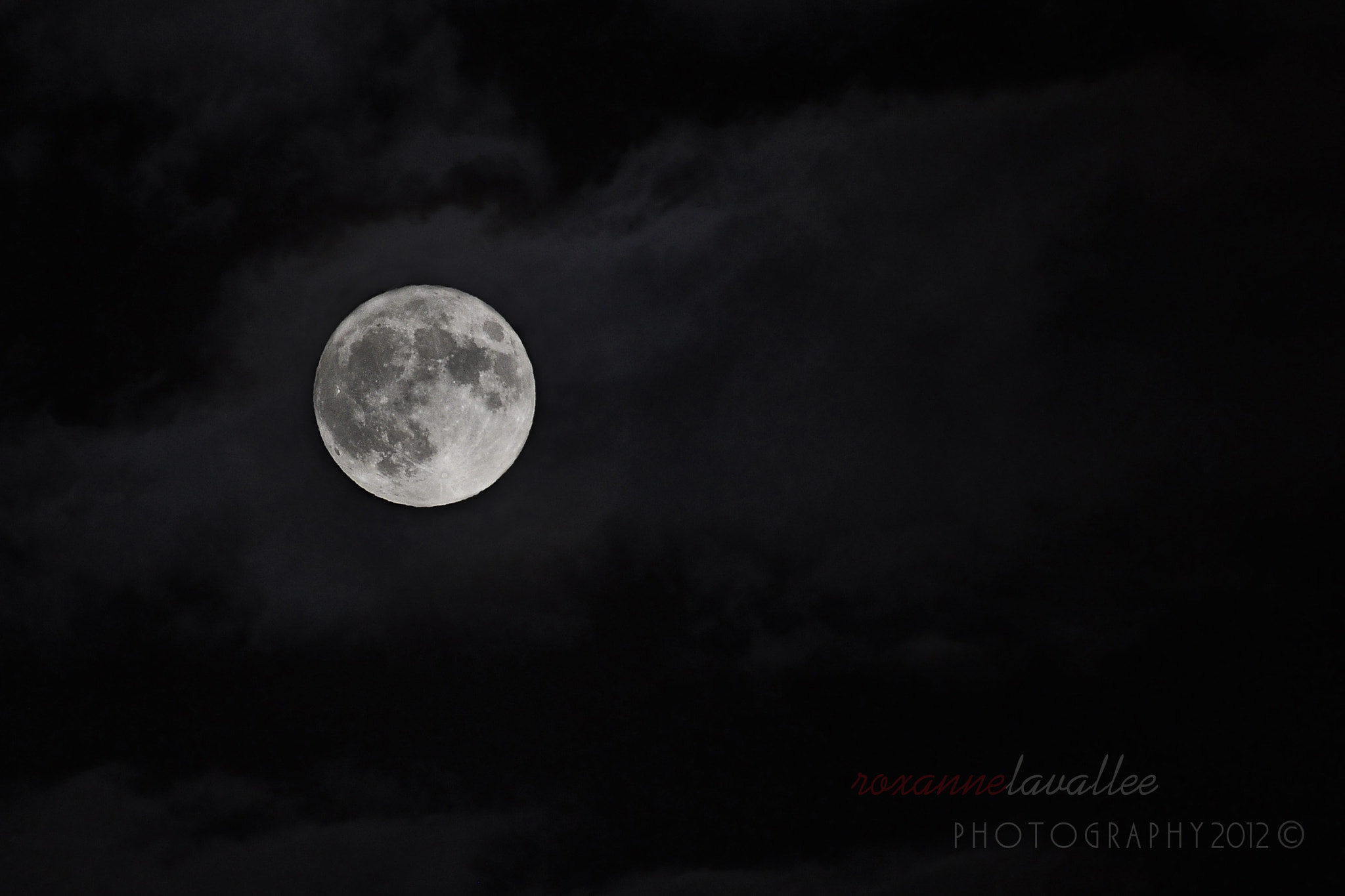 Photograph Supermoon 2012 by Roxanne Lavallee Photography on 500px