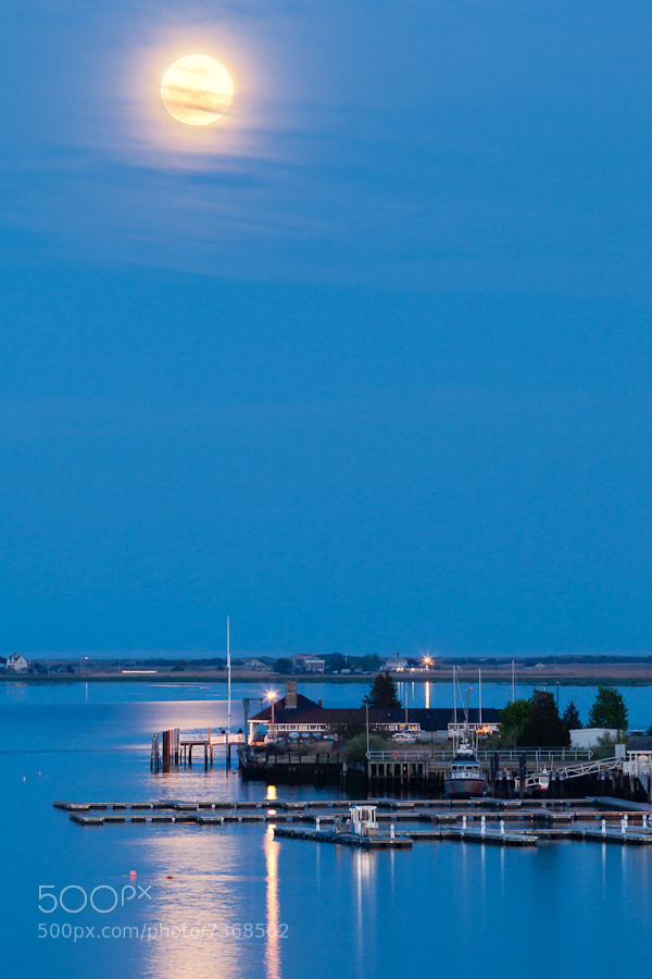 Photograph Super Moon II, Newburyport, Massachusetts. by Stanton Champion on 500px