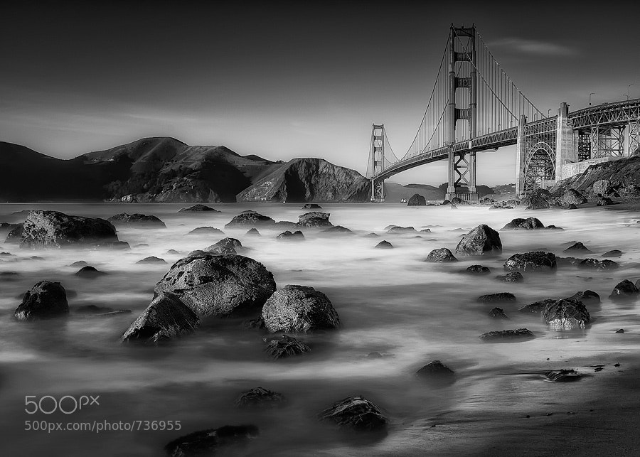 Photograph Golden Gate | Monochrome Edition by Jon G on 500px