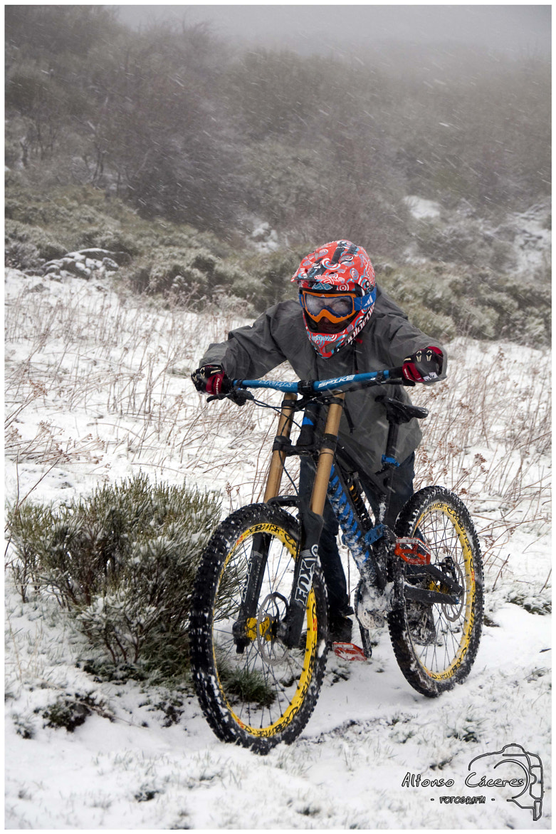 Photograph MTB Snow by Alfonso Cáceres on 500px