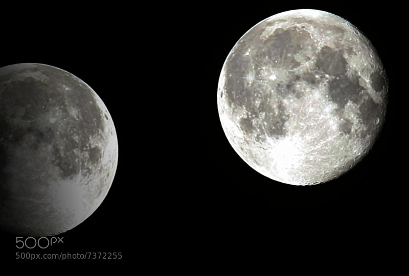 Photograph The Moon of May 2012 by edward mendoza on 500px