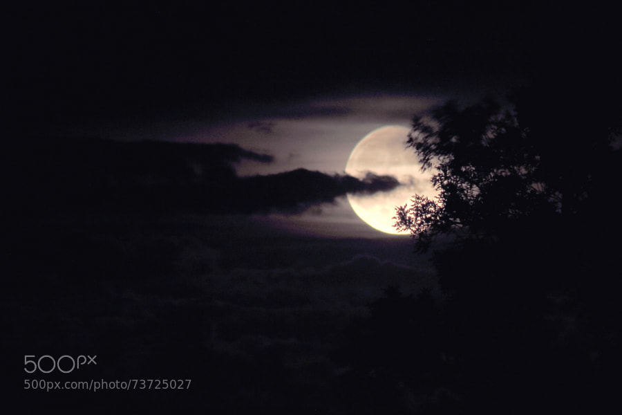 Photograph Storm Moon (Saturday 14, June, 2014) by Jeff Carter on 500px
