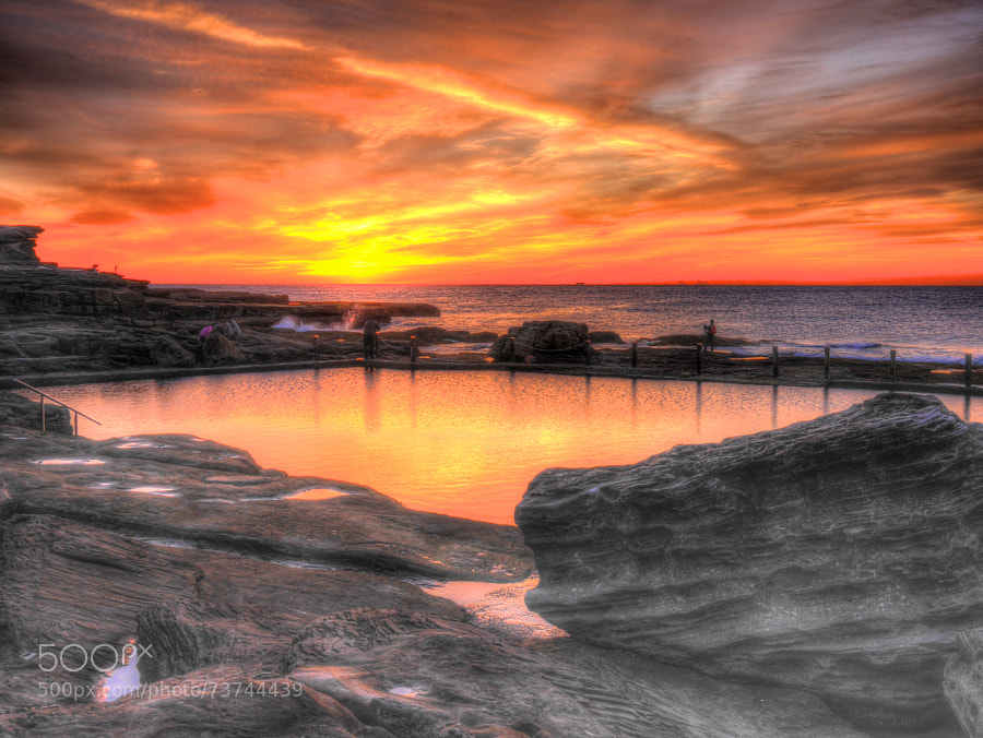 Photograph Pool of Fire by Des Paroz on 500px