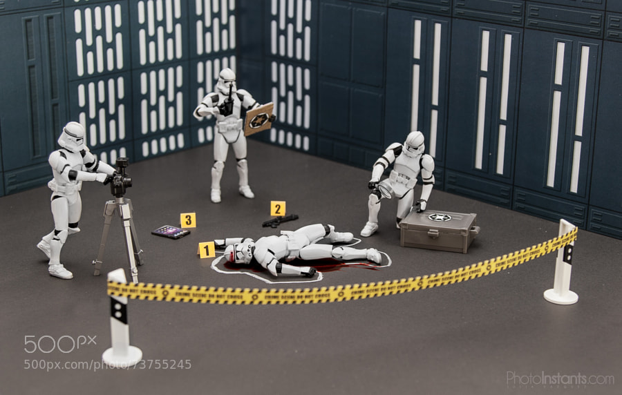 Stormtroopers - Photograph CSI: Death Star by Julia Vazquez on 500px