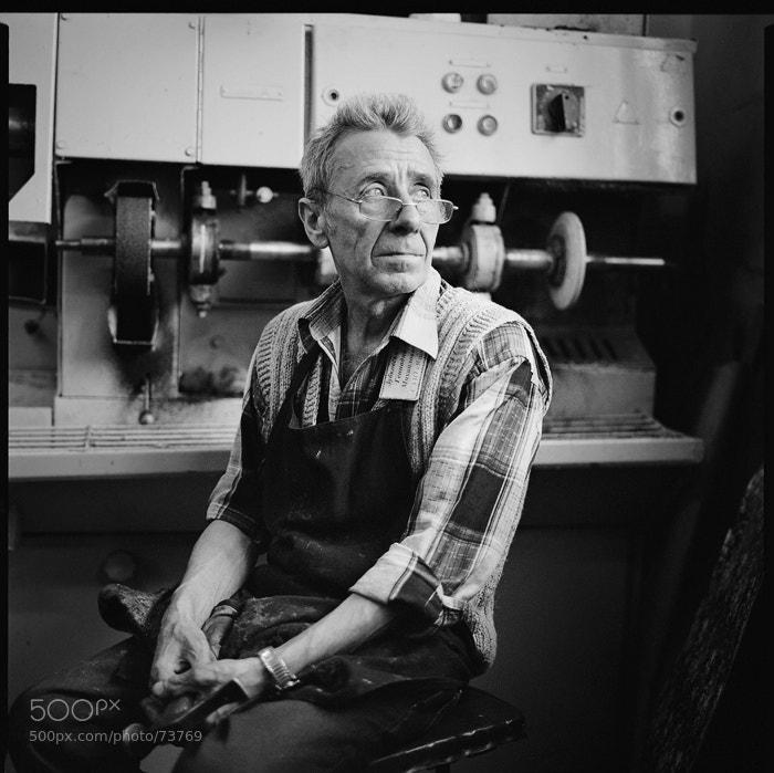 Photograph Old man by Evgeni Attsetski on 500px