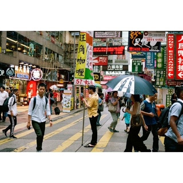 Street life Hong Kong