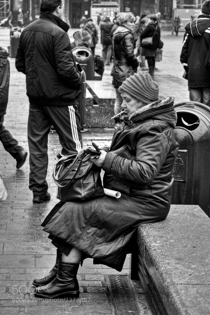 Photograph Cigarette break (Krakow, Poland) by Stacy Bamon on 500px