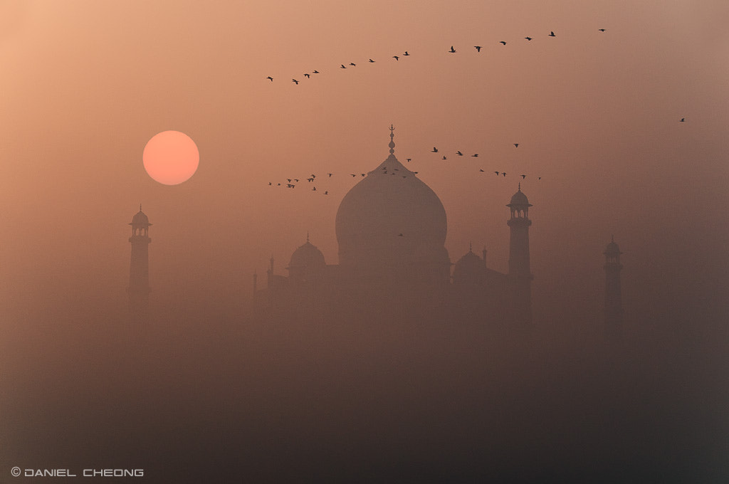 Photograph Misty Taj by Daniel Cheong on 500px