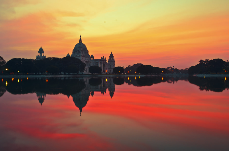 SUNSET IN KOLKATA by Rig Biswas on 500px.com