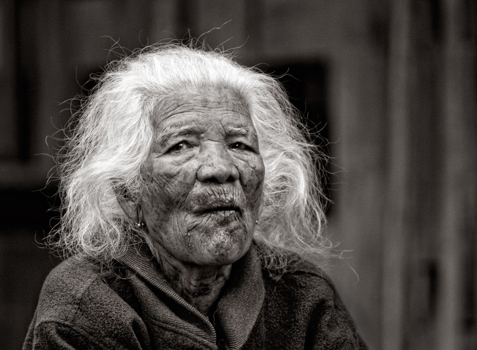 Photograph Old lady by Eddy Ngadiwidjaya on 500px