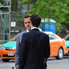 Постер, плакат: Gabriel Macht and Brendan Hines Suits Season 4