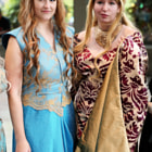Постер, плакат: Margaery Tyrell and Cersei Lannister Game of Thrones