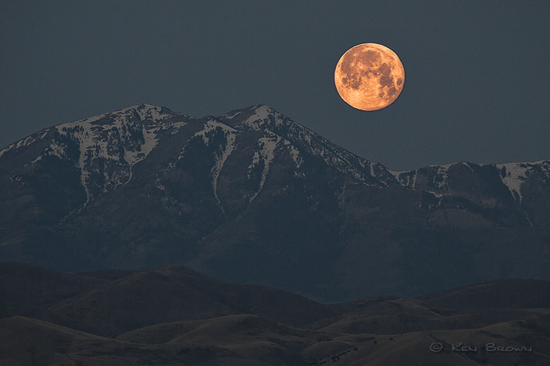 Photograph Super Moon by Ken Brown on 500px