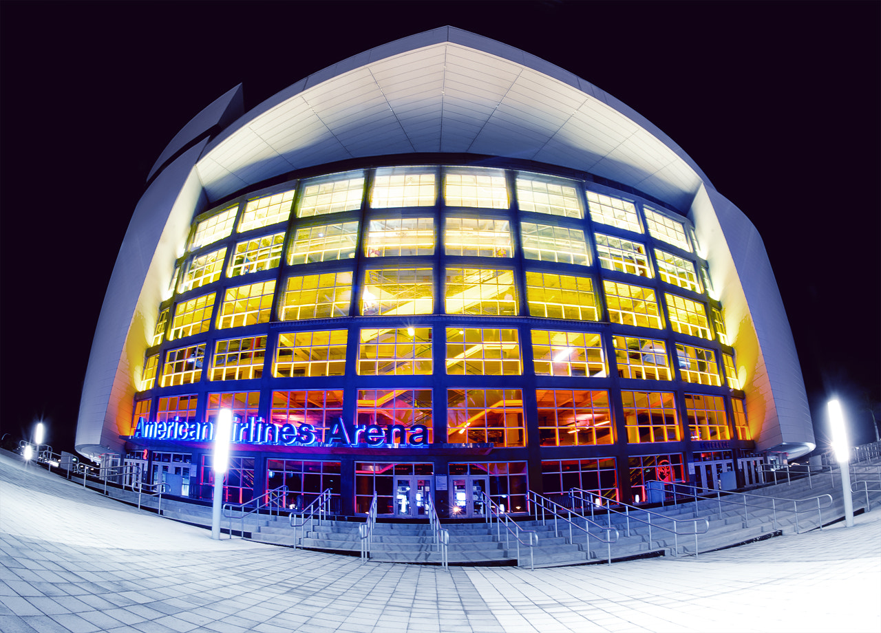 Photograph American Airlines Arena by Ivan  Nava on 500px