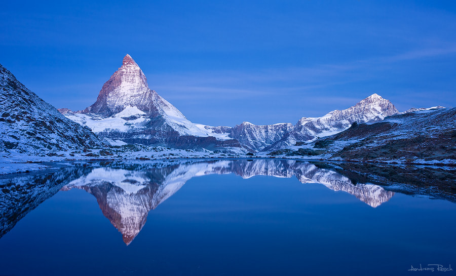 Photograph Matterhorn Morning by Andreas Resch on 500px
