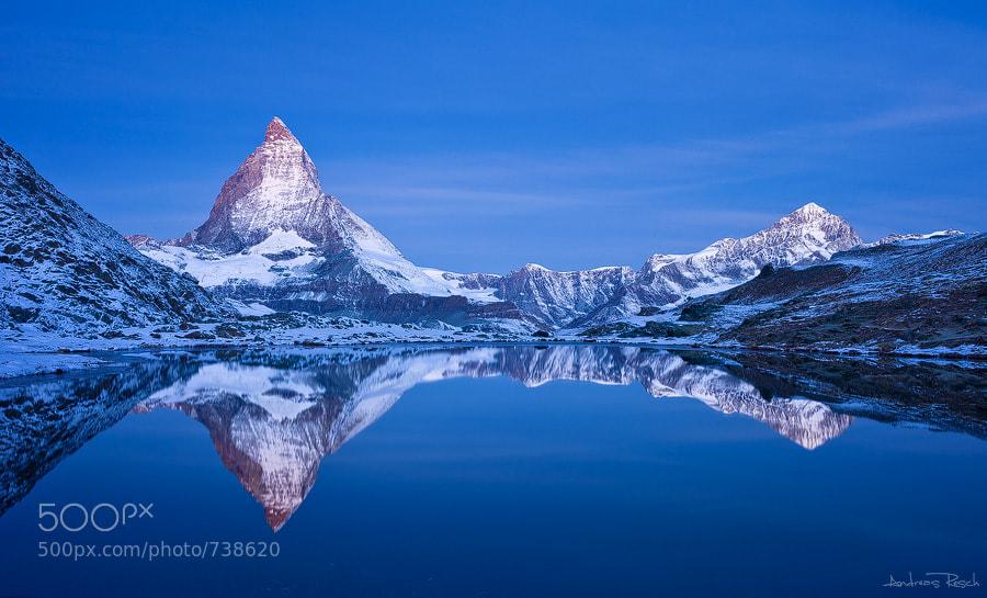 Photograph Matterhorn Morning by Andreas Resch on 500px