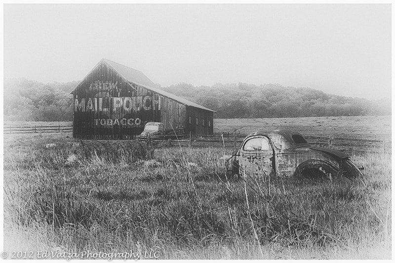 Photograph Mail Pouch Barn #1 by Ed Vatza on 500px