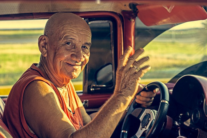 Photograph Miguel: Taxi driver from Cuba by Juan Venegas on 500px