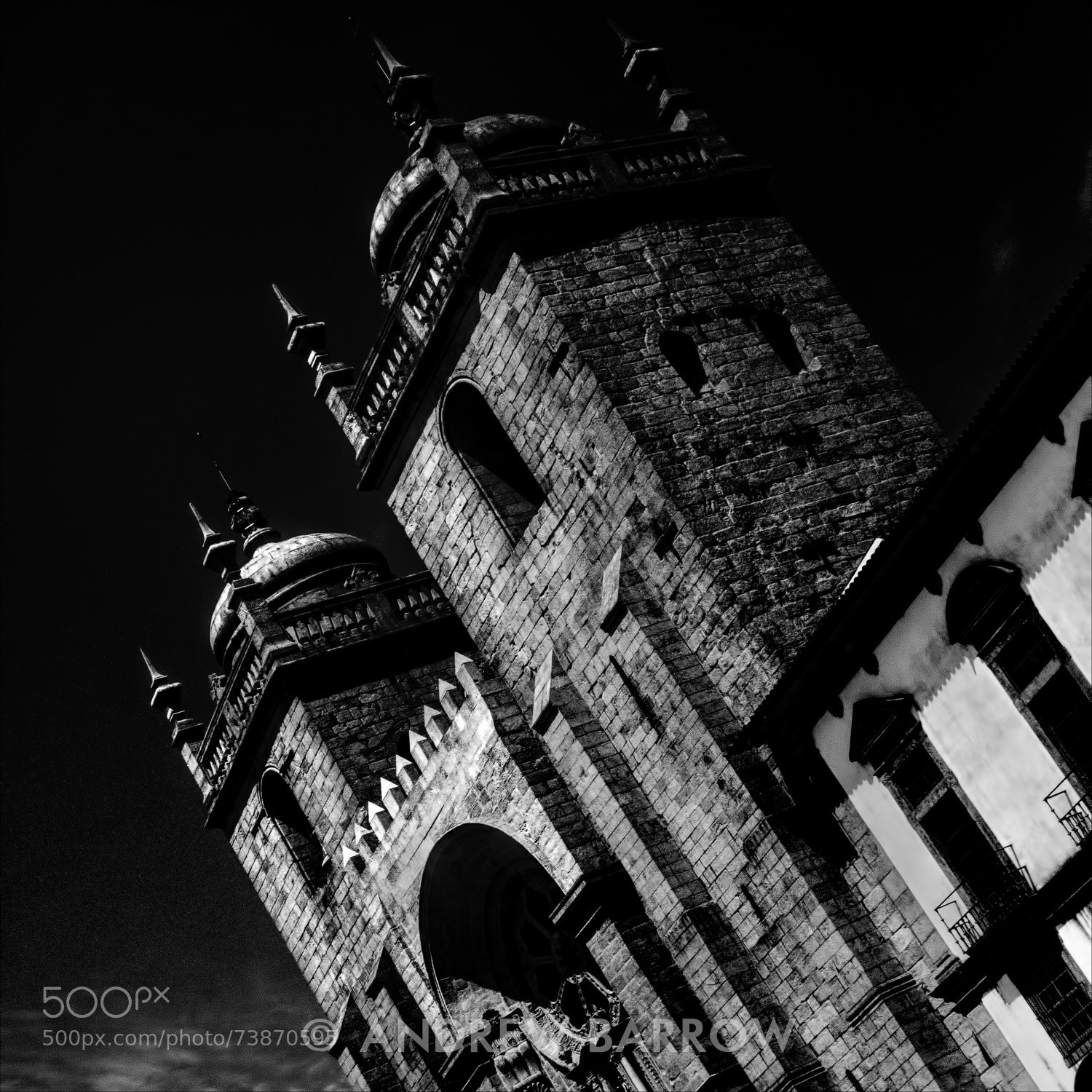 Photograph Oporto Cathedral by Andrew Barrow LRPS on 500px