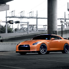 Постер, плакат: Tangerine Dream Nissan GT R