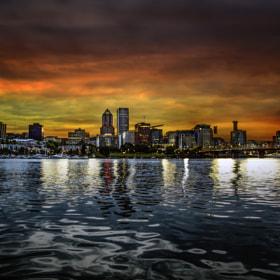 Last night on the river...Portland