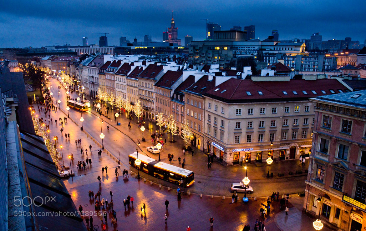 Photograph Warsaw in January by Mike Lesaski on 500px