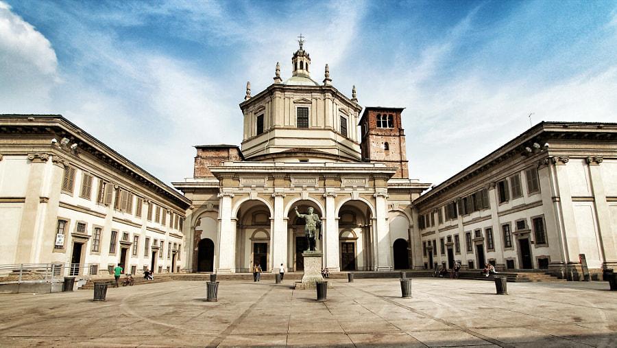 Basilica di San Lorenzo Maggiore by Gianluca Epirotti on 500px.com