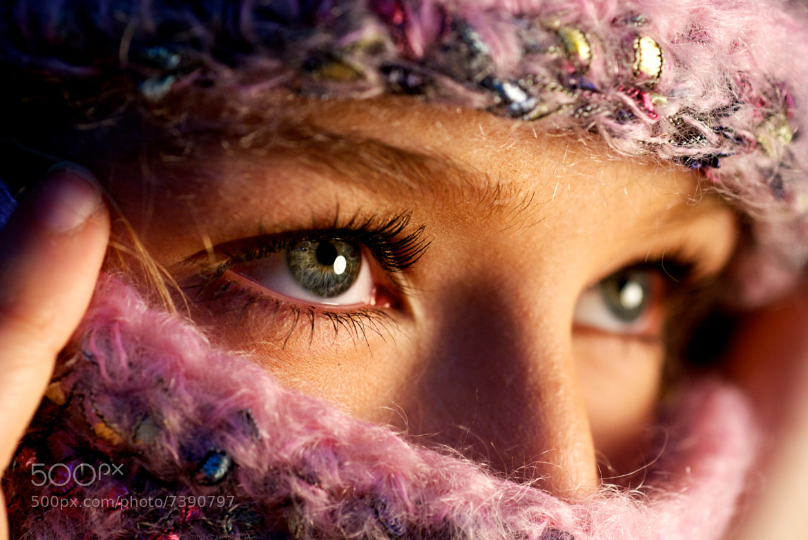 Photograph Alex and her Scarf by Charlie Carver on 500px