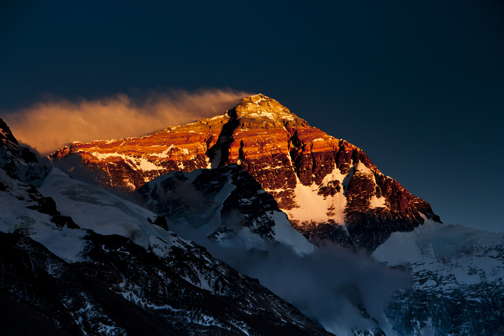 Photograph Everest  by Zhang Rui  张睿 on 500px
