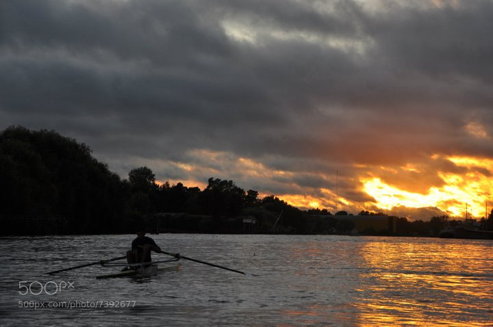 Photograph The last Rower by Tom Lizer on 500px