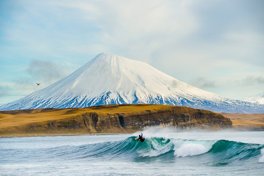Photograph Surfing The Aleutians by Chris  Burkard on 500px