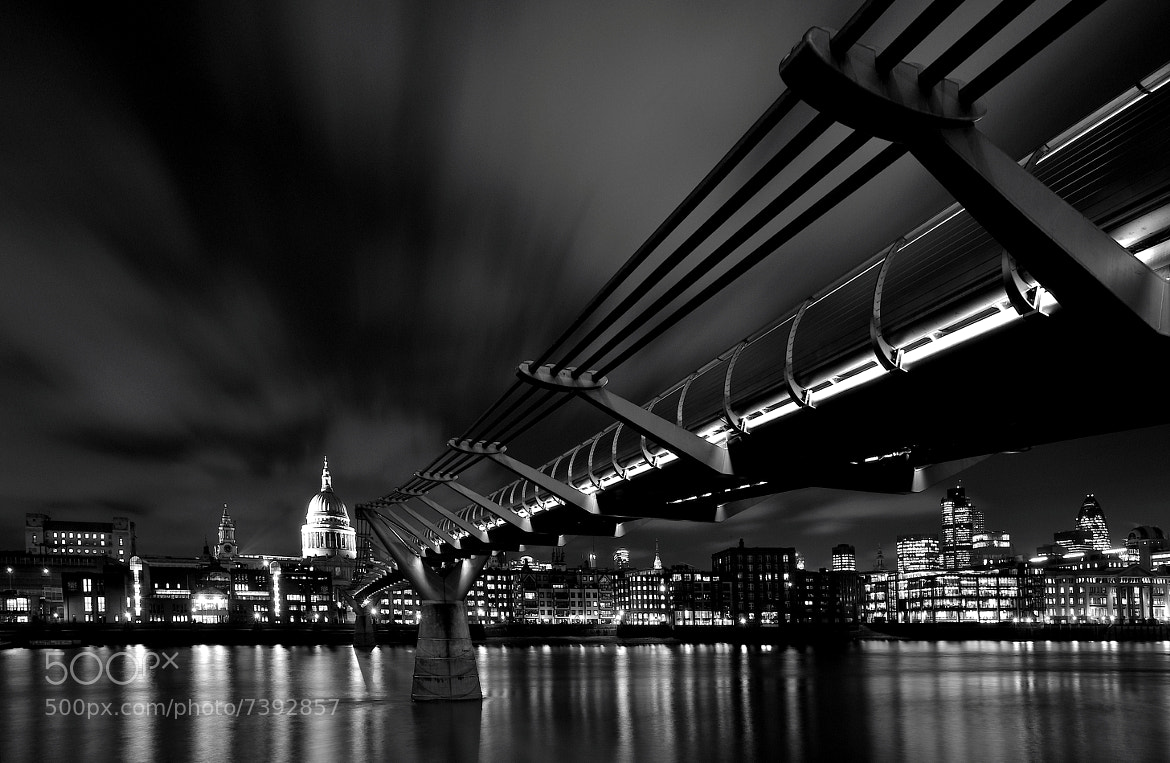 Photograph Bridge to St Paul's by Andreas Jones on 500px