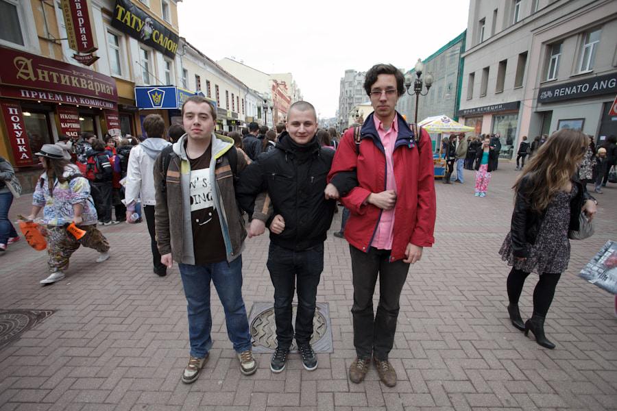 Photograph Arbat LOOK by Ebash Look on 500px