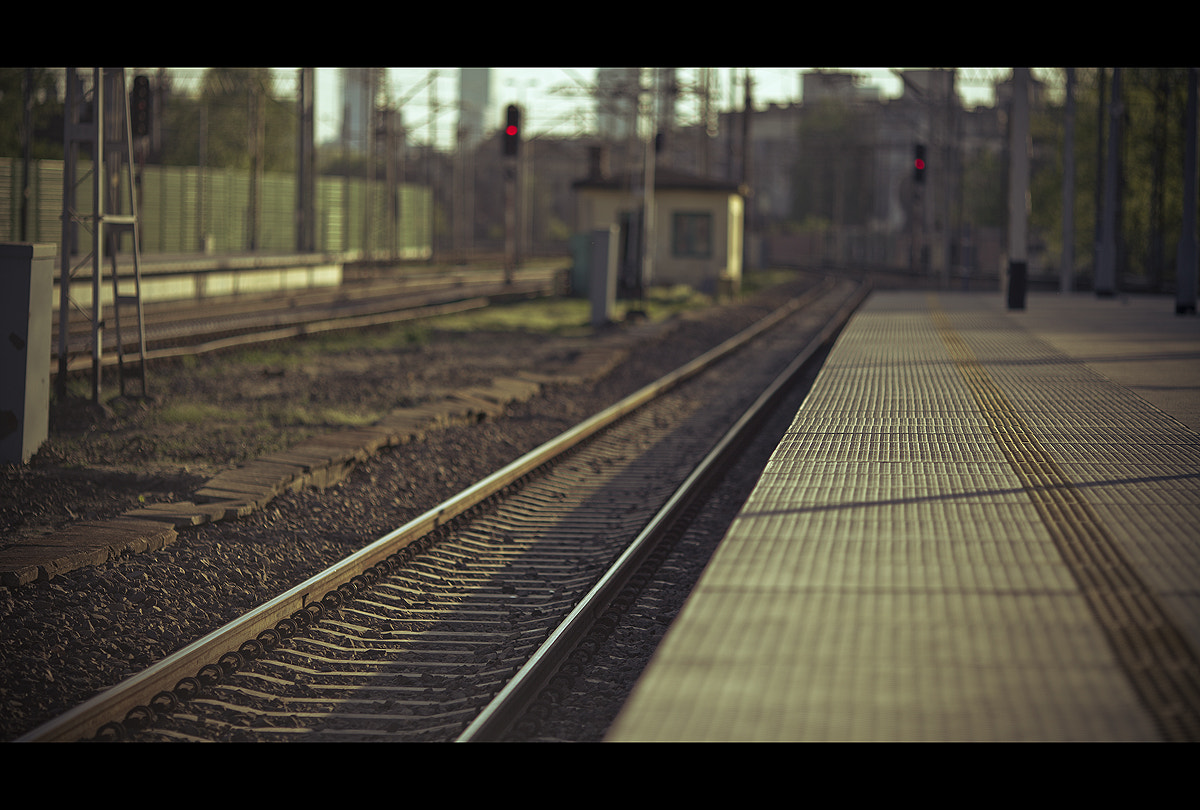 Photograph Rails by Maxim Chechin on 500px