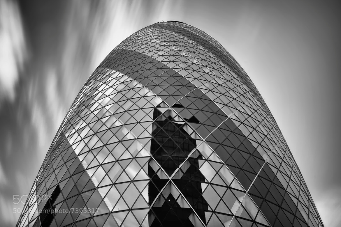 Photograph The Cloudy Gherkin by Conor MacNeill on 500px
