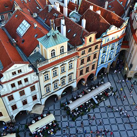 Most photographed Staré Město