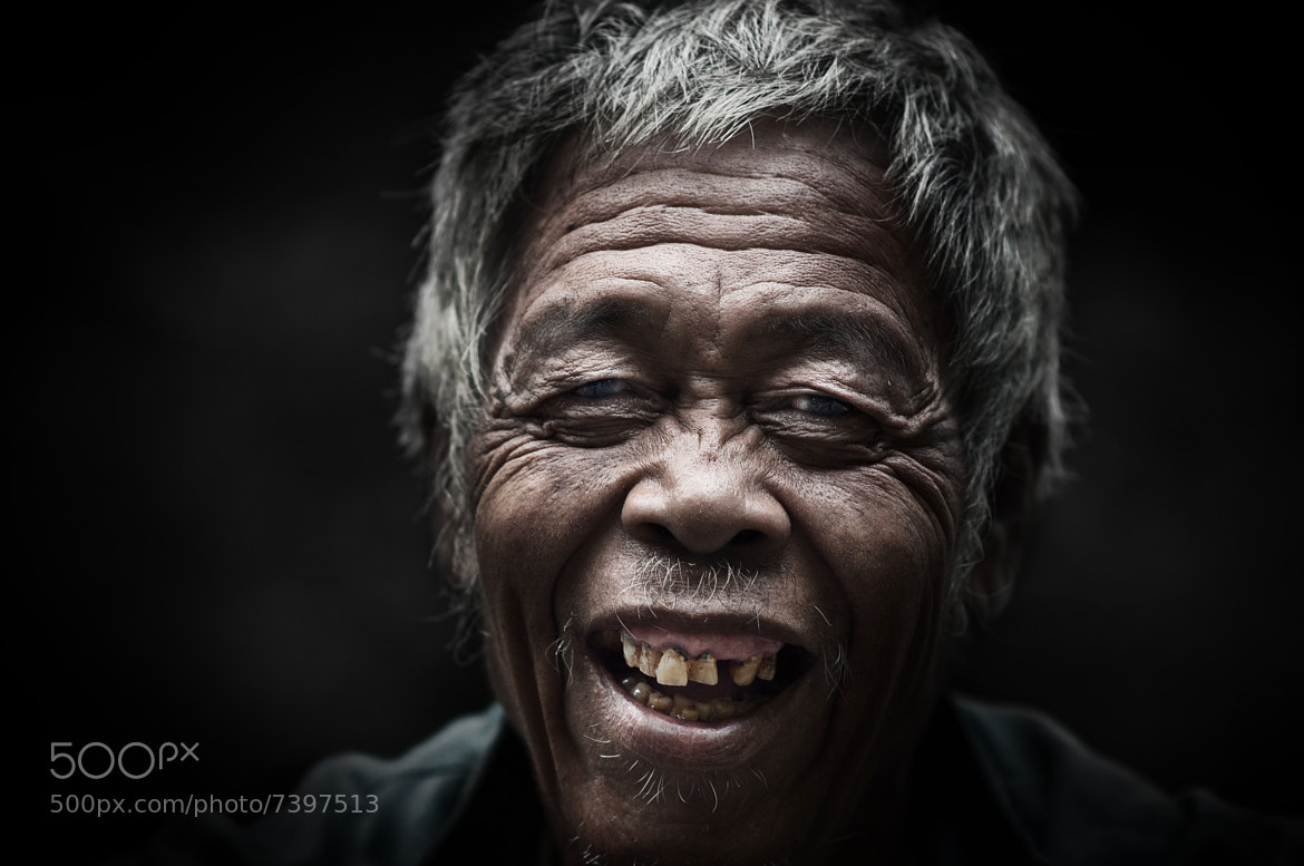 Photograph Crazy old fella by Rio Krisna Murti on 500px