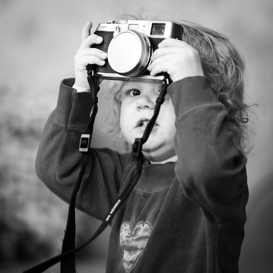 Photograph Little Photographer by Teemu Tretjakov on 500px