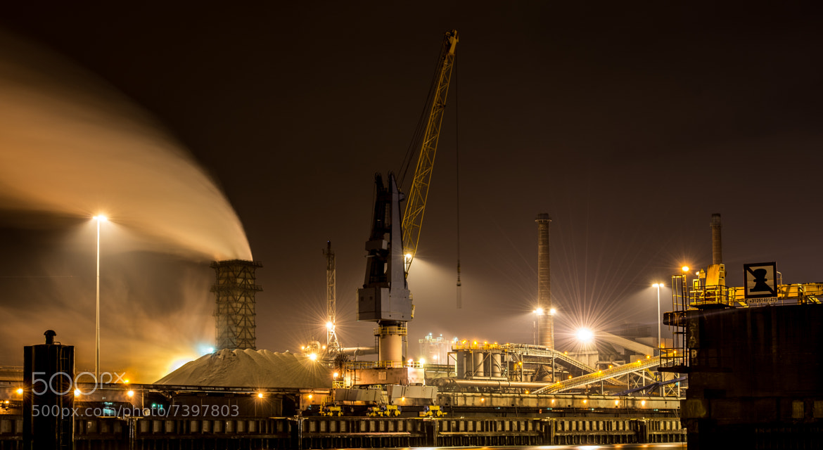 Photograph Ijmuiden Steelworks by Jasper Poppe on 500px