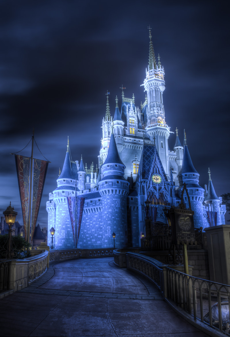Photograph Cinderella's Spooky Castle by Dave Wilson on 500px